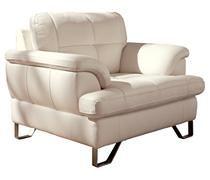 Gunter - Brilliant White Chair