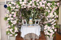 Cake Table. Venue Il Cielo in Beverly Hills, CA