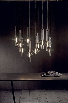 Beautiful multi-light pendant by usona