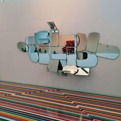 Jim lambie Jim Lambie, Kinetic Art, Art Installation, Deco, Exhibitions, Tiny House, Floors, Salmon, Pop Art