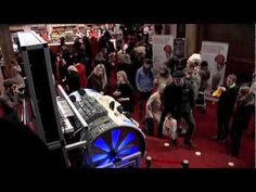 LEGO Builders of Sound - Barrel organ plays the Star Wars theme song.