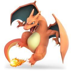 View an image titled 'Charizard Art' in our Super Smash Bros. Ultimate art gallery featuring official character designs, concept art, and promo pictures. O Pokemon, Pokemon Cards, Charmander Charmeleon Charizard, Charizard Tattoo, Pikachu Raichu, Super Smash Bros Characters, Digimon, Videogames, Deviantart