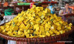 Wenn ich könnte dann würde ich Schubkarren nach Hause transportieren!!!  Gewürfelter Fak Thong Thai Kürbis