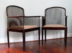 Andover Occasional Chairs in Rosewood