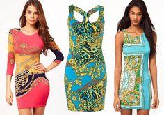 Vestidos #style scarf print Asos 33.33 €, Top Shop 34.56 € y Asos 33.33 € #moda