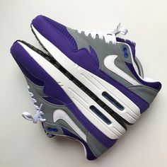 Nike Air Max 1 x NikeiD Purple Pills