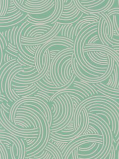 Farrow & Ball Tourbillon Green Wallpaper main image