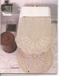 Crochet gold: house