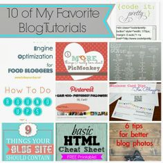 10 MUST have resources for bloggers of any kind, new and experienced!