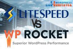 LiteSpeed Cache vs WP Rocket – Comparație Tech Companies, Wordpress, Company Logo, Blog, Blogging
