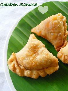 Chicken Samosa Recipe, Malabar Chicken Samosa (Kerala Style) | Cooking Is Easy