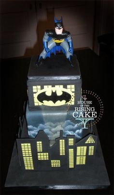Little Miss Naughty Cake Sweets Pinterest Little Miss And Cakes - Dark knight birthday cake