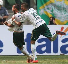 Leandro Pereira e Rafael Marques - Palmeiras 1x0 Botafogo/SP - Allianz Parque - Campeonato Paulista 12/04/2015