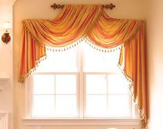 Use a cupboard handle instead of curtain crown for contemporary twist.