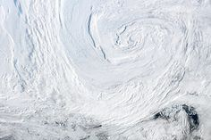 Strong Summer Cyclone Churns Over the Arctic  : Natural Hazards : NASA Earth Observatory