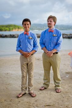 Groomsmen // Nautical Wedding // @Windjammer Landing #destinationwedding #windjammer #wedding  #nauticalwedding