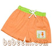 smocked swimwear for boys, smocked swimwear for boys with sea horse more details: http://babeeni.com/Detail-seahorse-smocked-swimwear-for-boys---sw-036-753.aspx