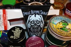Stop on in for the variety, stay for the convenience. Pomade.com #gravebeforeshave #beardwash #beard #beardbalm #pomade #pomades #comb #combs #mrpomade