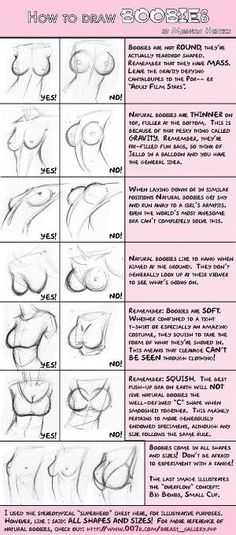 Boob tutorial by Poppy King