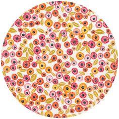 Geninne Zlatkis for Cloud9 Organic, Alegria, Blooms Pink