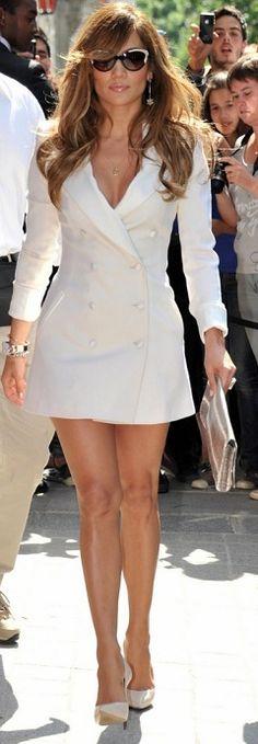 Jennifer Lopez in Rachel Zoe