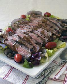 Grilled Steak & Salad / gluten-free, dairy-free recipe