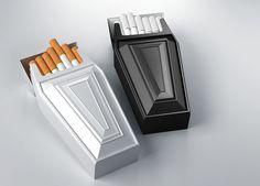 Antismoke pack by Reynolds and Reyner , via Behance