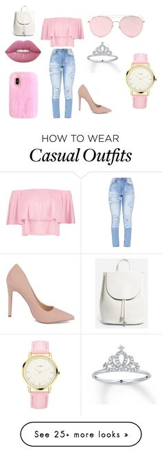 """""""Casual"""" by wjazmine878 on Polyvore featuring Boohoo, Everlane and LMNT"""