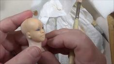 This tutorial Im sharing with all of you that you can use makeup to paint your dolls. I have done this for years and I found using a makeup with strong pigme.