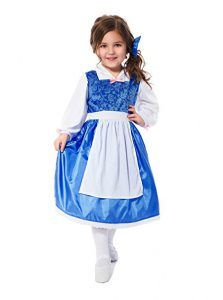 Beauty Princess Day Dress with Bow Dress Up Costume Belle-Inspired by Little Adventures Blue Costumes, Dress Up Costumes, Girl Costumes, Halloween Costumes, Children Costumes, Halloween Fun, Girls Dress Up, Flower Girl Dresses, Day Dresses