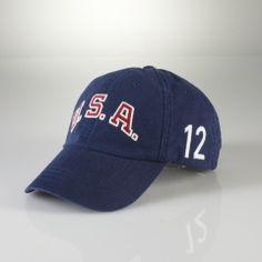 58e13f5314d Team USA Sport Cap - Polo Ralph Lauren Hats   Scarves - RalphLauren.com