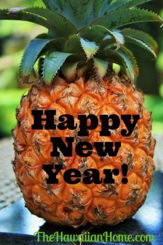 Happy New Year - The Hawaiian Home - New Year sales