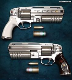 454 magnum revolver with 30mm grenade launcher - MemePix