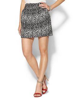 Rhyme Los Angeles Leo Print Skirt $69