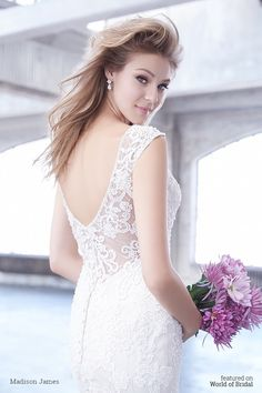Madison James Spring 2016 Wedding Dress