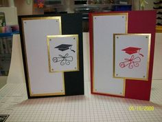 Graduation Cards by Deanette - Cards and Paper Crafts at Splitcoaststampers by katie Graduation Cards Handmade, Graduation Ideas, Congratulations Graduate, Retirement Cards, Kids Cards, Baby Cards, Paper Cards, Cool Cards, Homemade Cards