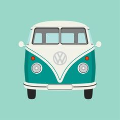 I've always been obsessed with vintage VW's, this print would be really cute hung somewhere in my house... now I just need to find a place.