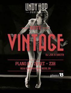 Noite Vintage no Plano B  29 de Setembro de 2012