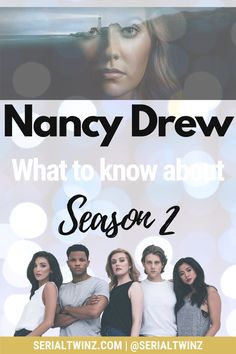 NANCY DREW SEASON 2 | Missing Nancy Drew? We do too, that's why we wrote a blog post about everything we know about the upcoming Nancy Drew Season 2 which should premiere on The CW on January 20, 2021. So click the pin to read all about Nancy Drew Season 2 starring the talented Kennedy McMann, Maddison Jaizani, Leah Lewis and more: news, cast, plot, spoilers, S1 Recap, trailer, promo, and more | #NancyDrew #DrewCrew #NancyDrewS2 #TheCW Cw Tv Series, Marvel Series, Drama Series, Book Series, Scott Wolf, Ally Mcbeal, Nancy Drew Books, Famous In Love, Drama Tv