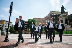 Groomsmen Photo  | PHOTO SOURCE • BETHANY AND DAN PHOTOGRAPHY | Featured on WedLoft