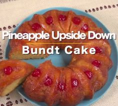 We& found it— the dessert for summer& first barbecue! Not only is it bursting with the flavors of a tropical vacation, it& easy to make, too. Pineapple Upside Down Bundt Cake Recipe, Pineapple Cake, Pineapple Slices, Crushed Pineapple, Bunt Cakes, Cupcake Cakes, Cupcakes, Cake Recipes, Dessert Recipes