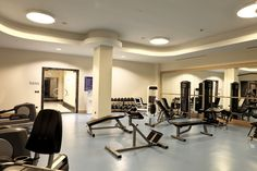 Be fit! Explore our modern fitness center!