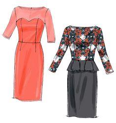 V8849   Misses'/Misses' Petite Dress   View All   Vogue Patterns (Sz 6-14). (##SEARCHPatterns)