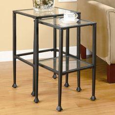 Wildon Home ® Thorndike 2 Piece Nesting Tables   Wayfair  $85