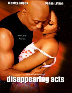 A struggling construction worker and an aspiring musician find themselves falling in love in this compelling romantic drama starring Wesley Snipes and. Disappearing Acts, Wesley Snipes, Sanaa Lathan, Chick Flicks, Dirty Dancing, Movies And Tv Shows, Good Books, Movie Tv, The Book