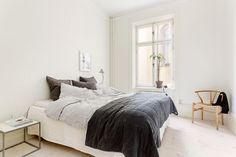 El dormitorio típico de muchos nórdicos (via Bloglovin.com )