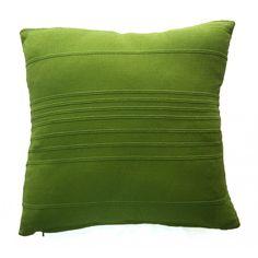 Bamboo Design Cushion Cover - Green (40cm x 40cm) - Mode Alive - Home Decor Heaven