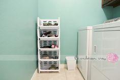 shoe storage and hallway entry ideas. the anderson crew: hallway love.