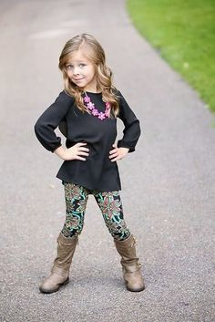 Cute outfit for little girl