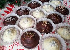 Kakaové košíčky s orechovou plnkou - recept postup 6 Muffin, Breakfast, Cake, Erika, Food, Recipe, Morning Coffee, Kuchen, Essen